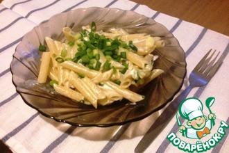 Рецепт: Паста с зелёным луком