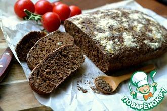 Рецепт: Черный хлеб с какао