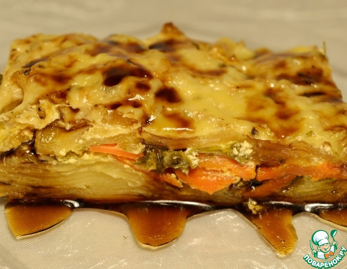 Рецепт: Овощная запеканка КиккоМания