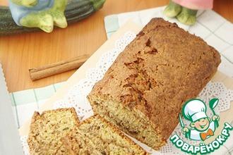 Рецепт: Десертный хлеб с кабачками