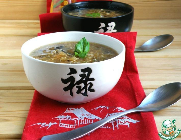Рецепт: Луковый суп в азиатском стиле