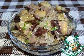 Рецепт: Маринованные баклажаны Нежные