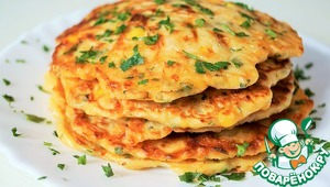 Tortillas with corn and cheese