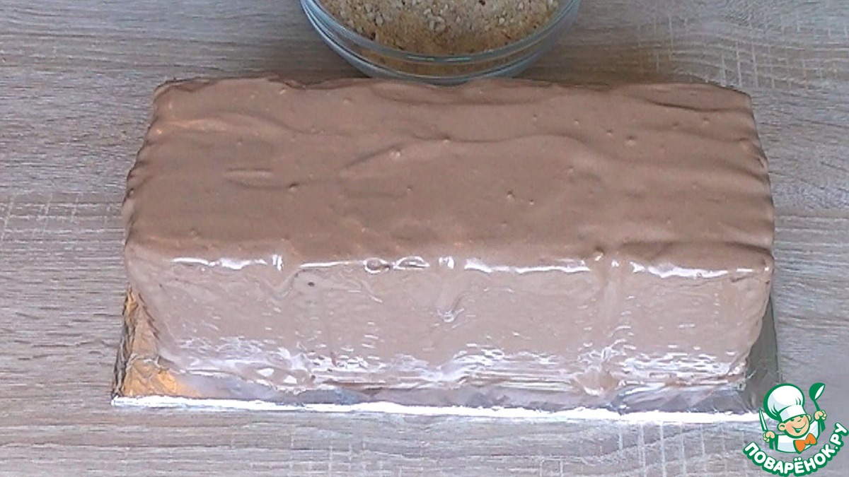 """Торт без выпечки """"Полосатый"""""""