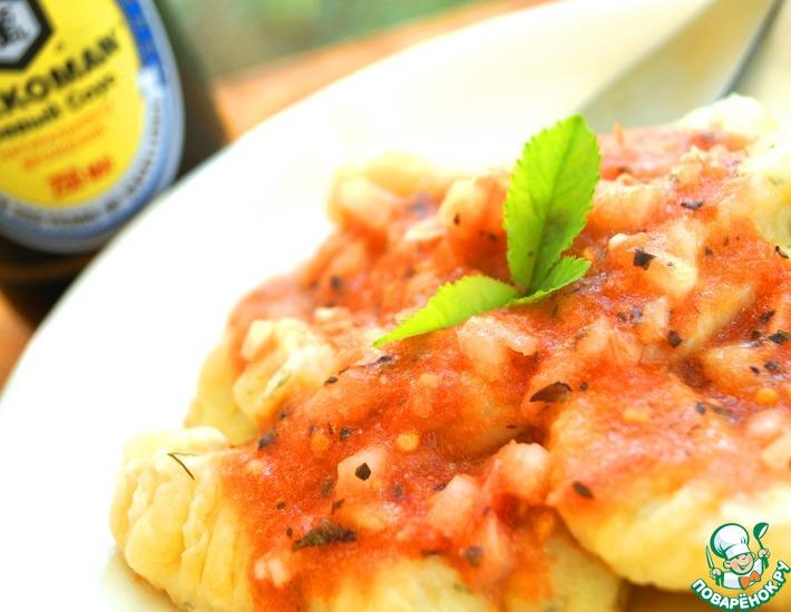 Рецепт: Картофельные ньоки в легком помидорном соусе