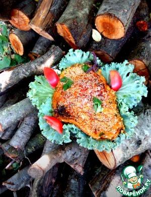 Запеченный пангасиус