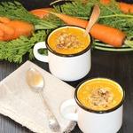 Морковный суп Оранжевое лето