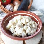 Картофельный салат с пикантным соусом