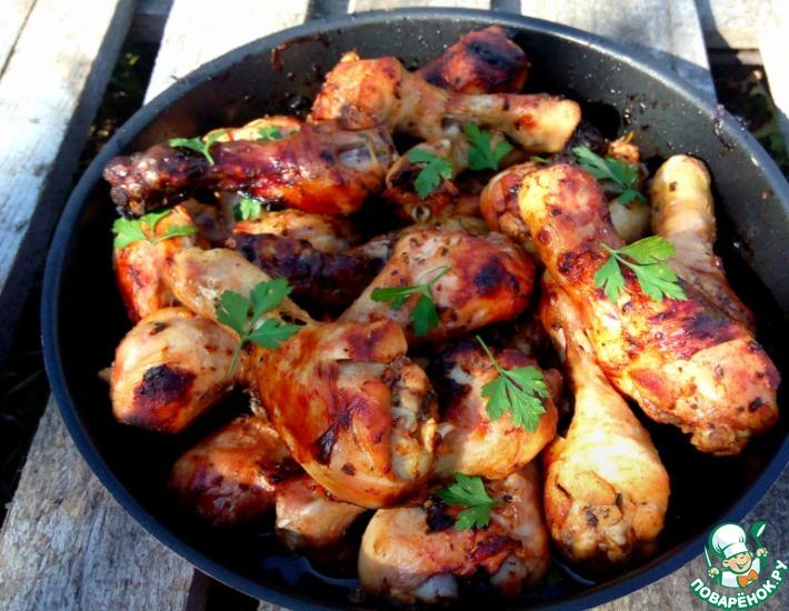 Рецепт: Голени куриные Лимончики