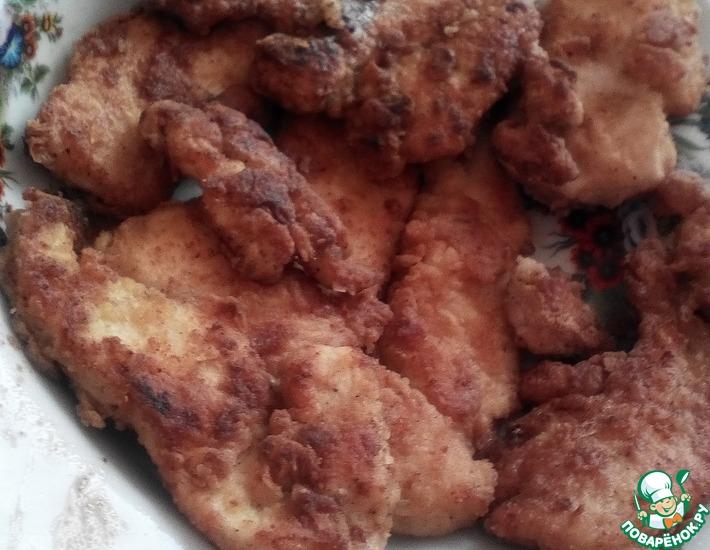 Рецепт: Куриная грудка в кляре У мамы