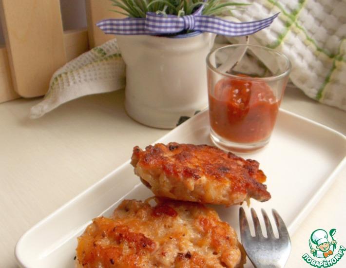 Рецепт: Картофельно-мясные котлеты