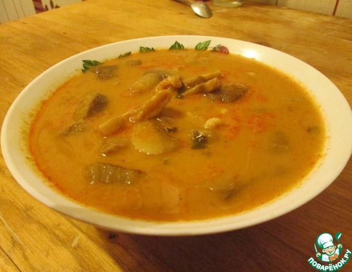 Рецепт: Тайский суп Том ям