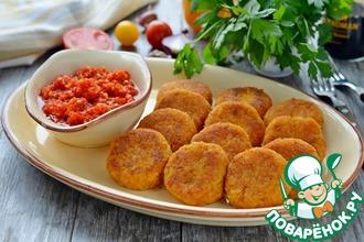 Рецепт: Морковно-рисовые котлеты