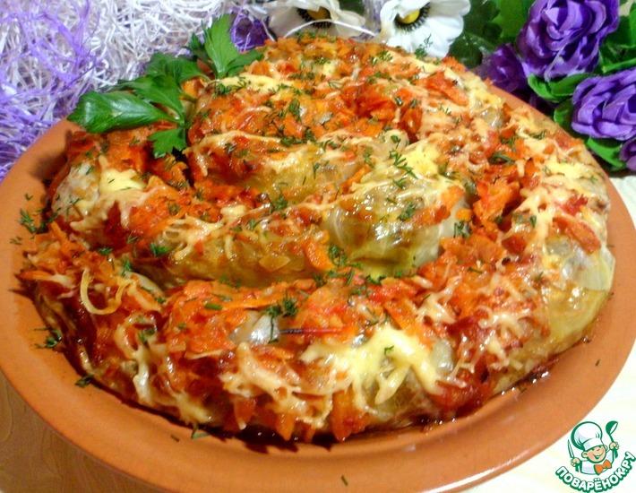 Рецепт: Завиванец из капусты по-украински