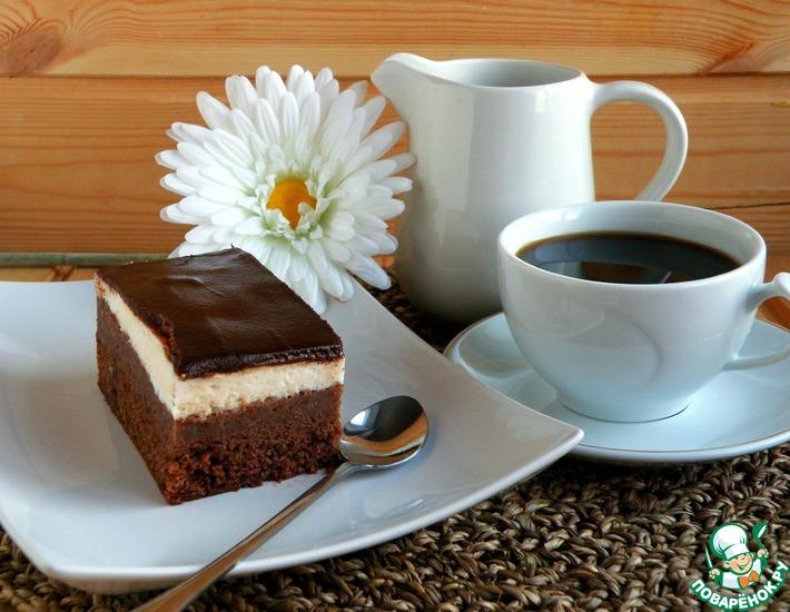 Рецепт: Торт Птичка-картошка в шоколаде