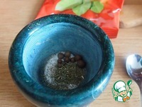 Говяжья вырезка с грибами и оливками ингредиенты