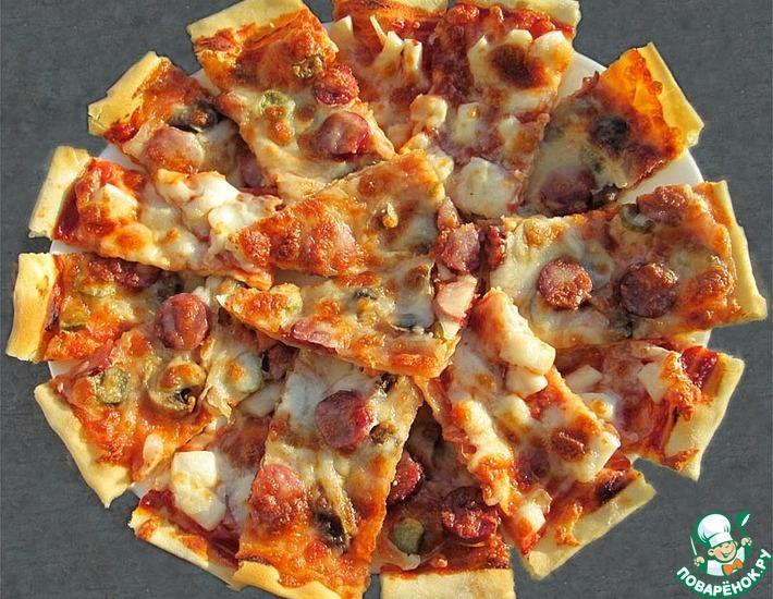 Рецепт: Пицца классическая