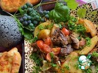 Оджахури из баранины ингредиенты