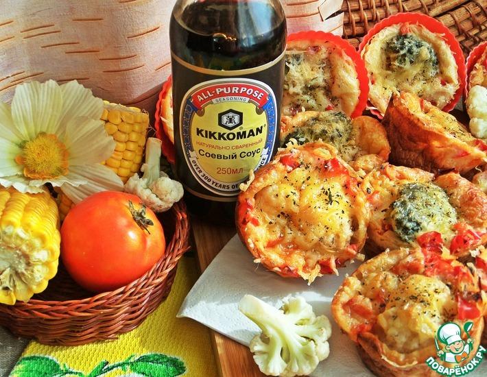 Рецепт: Овощные булочки