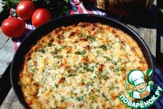 Рецепт: Запеканка рыбная с овощами и сыром