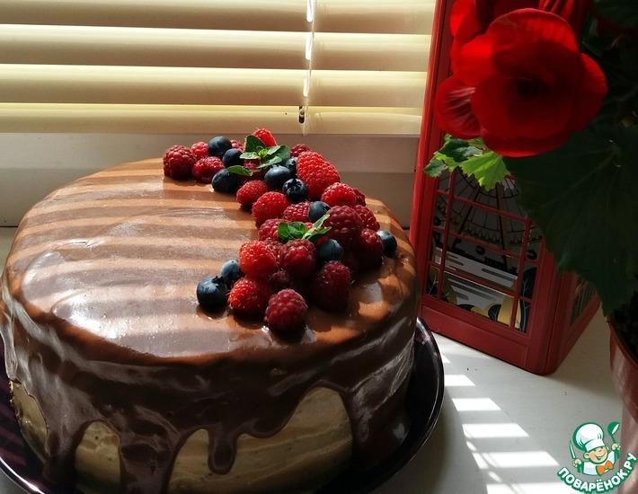 Рецепт: Медовый торт