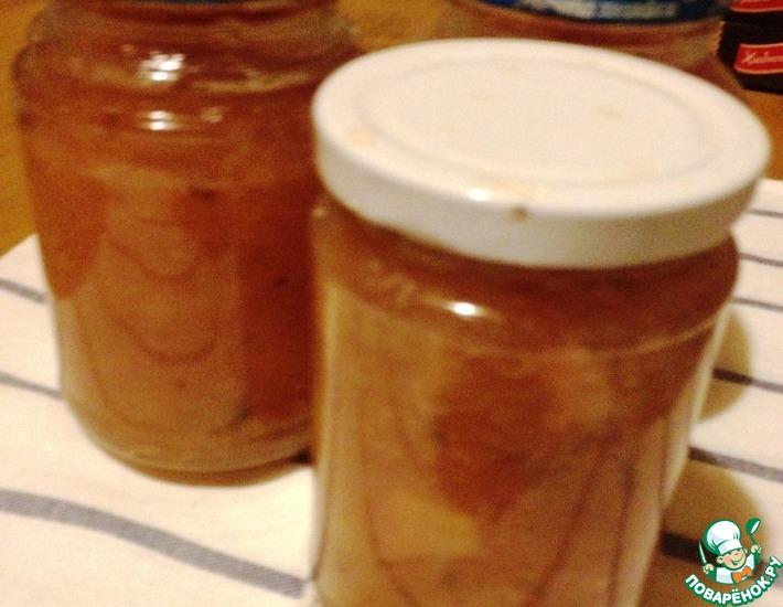 Рецепт: Нектариновый конфитюр с лаймом и мятой