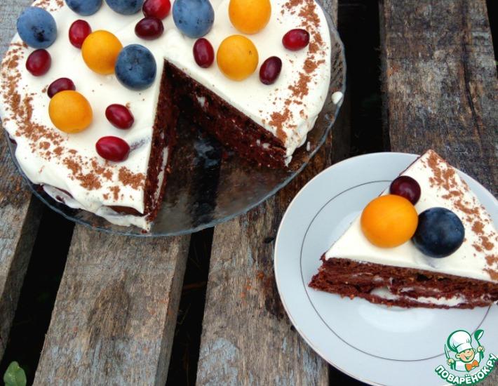 Рецепт: Торт шоколадный Молниеносный