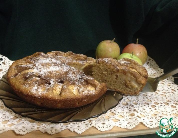 Рецепт: Яблочный пирог Прованс