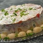 Салат Пестрый с необычным соусом