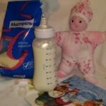 Жидкая манная каша Для малышей