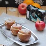 Десерт из запечённых яблок Зимний