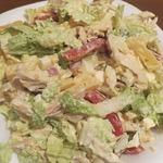 Салат с курицей Женское счастье