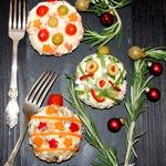 Салат-закуска Ёлочные шары
