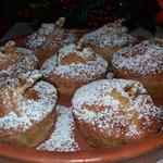 Айвово-яблочные кексы