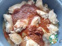 Курица в томатно-оливковом соусе ингредиенты