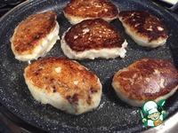 Зразы из картофельного теста с печенью ингредиенты