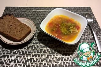 Рецепт: Куриный суп с брокколи