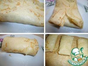 Тонкие блинчики с фаршем индейки рецепт с фото пошагово