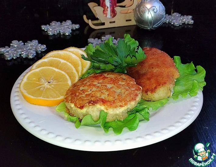 Рецепт: Котлеты рыбные Смачные