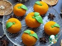 Пирожные ''Мандарины'' из теста моти ингредиенты