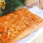 Пирог с утиным мясом и рисом