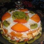 Фруктовый салат Под сугробом