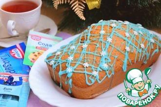 Рецепт: Кекс мандариновый Новогодняя сказка