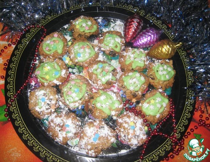 Рецепт: Печенье Овсяники