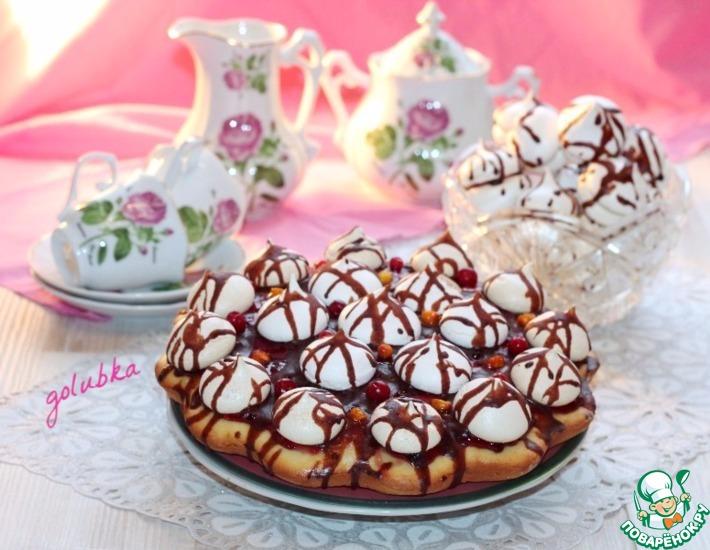 Рецепт: Пирог Муравейник