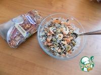 Салат с чёрным рисом ингредиенты