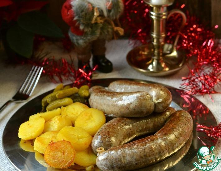 Рецепт: Ливерная колбаса Ятернички