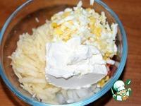Рыбный салат в рисовой шубе ингредиенты