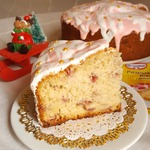 Пирог Клубничное Рождество