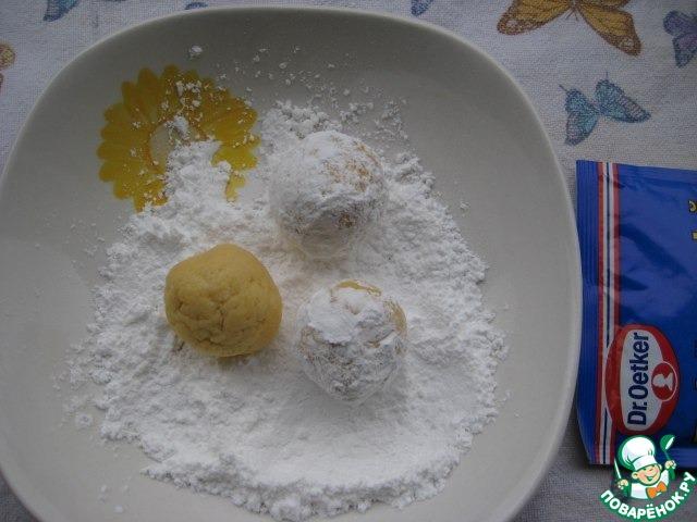 """Лимонное печенье """"Снежное"""""""